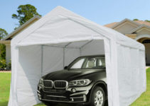 10 X 20 Ft Heavy Duty Carport Canopy Car Garage Shelter With Removable  Sidewalls And Doors  Buy Heavy Duty Carportcar Garagecar Shelter Product  On Picture Sample for 2 Car Canopy Carport