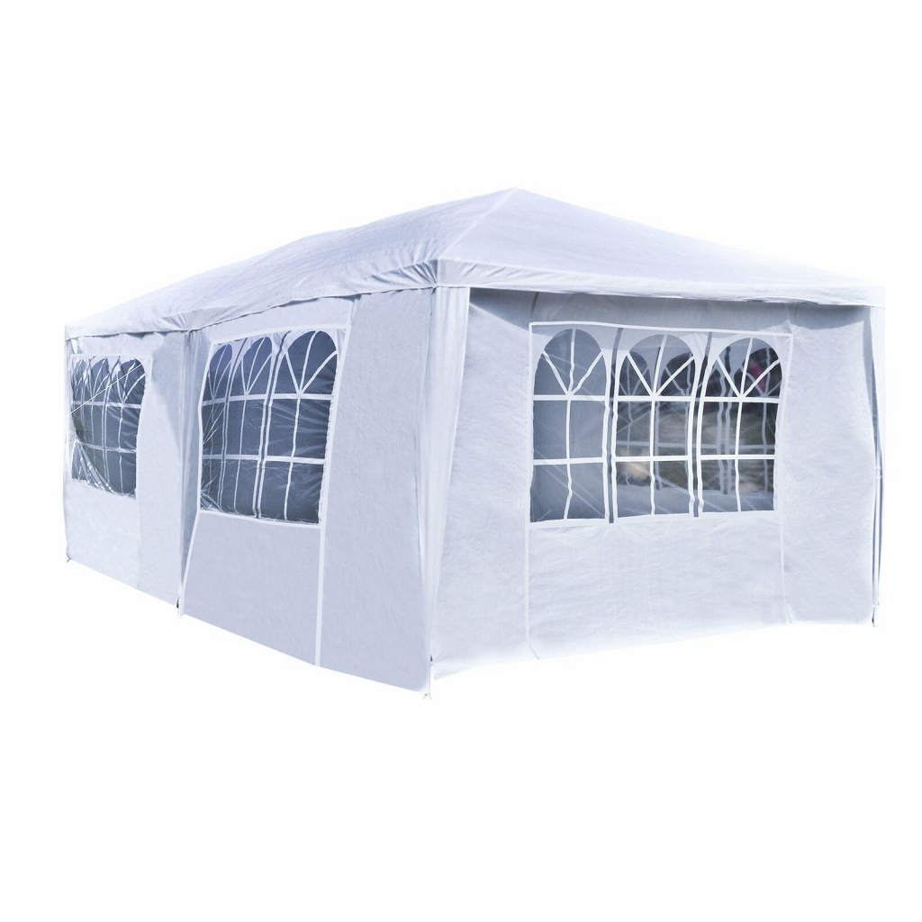 10'x20' White Heavy Duty Portable Garage Carport Car Shelter Outdoor Canopy  Tent Facade Example for Outdoor Canopy Carport