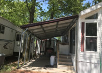10X24X95 Metal Leanto Carport 5  Midwest Steel Carports Picture Example for Lean To Metal Carport