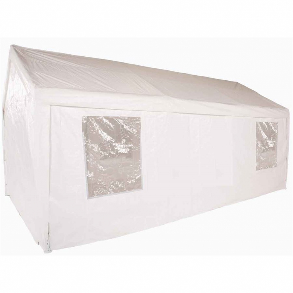 11'x20' Portable Garage Fully Enclosed All Season Carport Canopy Photo Sample of Enclosed Carport Kits