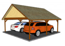 19 Cozy Two Car Carport Plans Collection  House Plans Facade Example in Wood Carport Plans Free