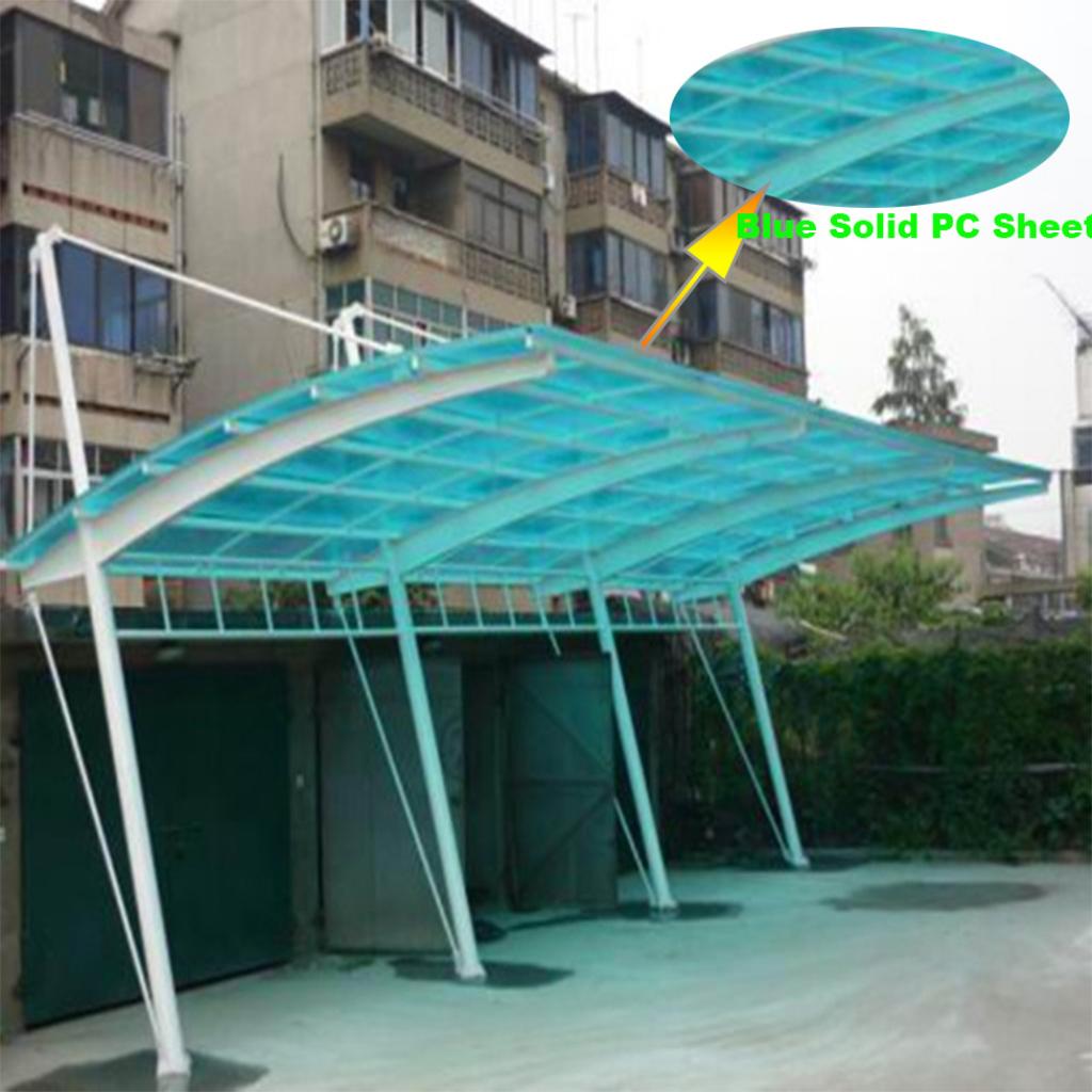 2 Auto Metall Carport Mit Aluminiumrahmen Und Polycarbonatplatte Dach   Buy Aluminium Carports Mit Polycarbonatplatte Dachcarport Dachfenster Picture Sample for Metal Carport Sheets
