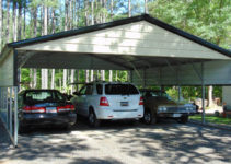 24X26 Triple Wide Metal Carport Image Example of 24X26 Metal Carport