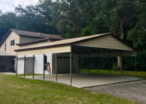 24X30 Carport  Central Florida Steel Buildings And Supply Picture Example for 24X30 Metal Carport
