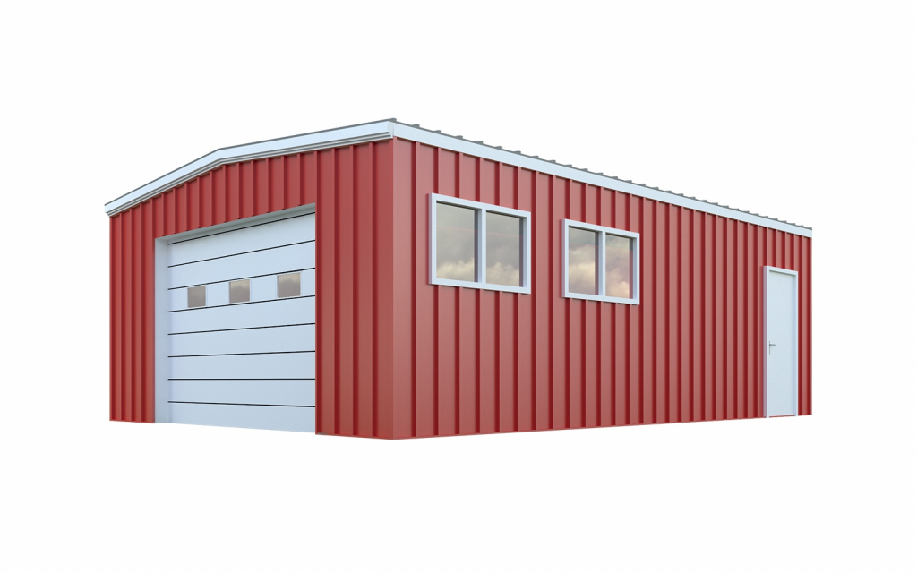24X40 Garage Package Quick Prices  General Steel Shop Picture Sample of 24X40 Metal Carport