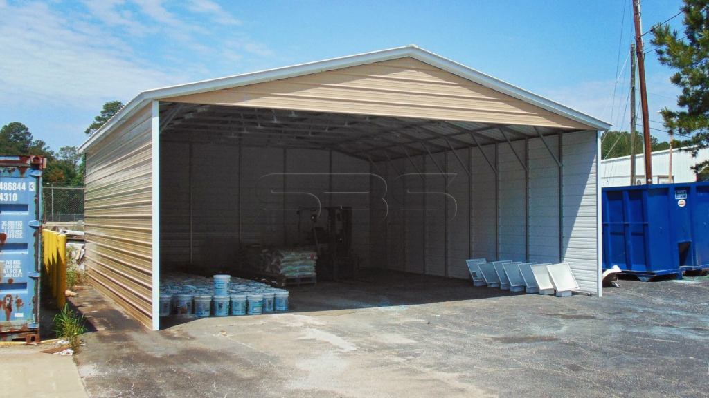 30X36 Commercial Carport Picture Example of 30 X 36 Metal Carport
