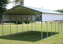 Aframe Horizontal Carports  Siram Metal Buildings Photo Example of Extend Legs On Metal Carport