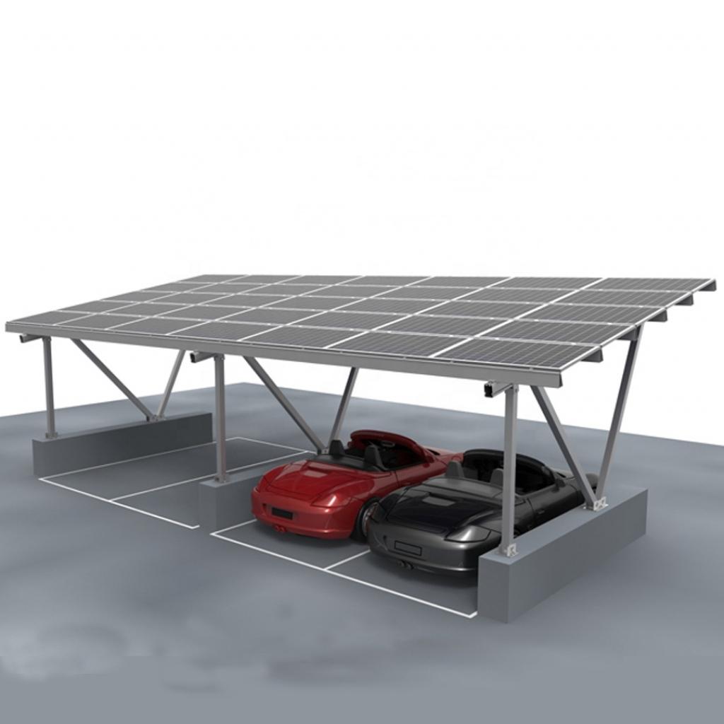 Aluminum Cantilever Solar Carportsolar Awning Kitsolar Carport Lighting   Buy Cantilever Solar Carportsolar Awning Kitsolar Carport Lighting Image Example for Residential Solar Carport Kit