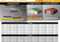 Arizona Az Carports Metal Garage Prices Picture Example in Metal Carport Price