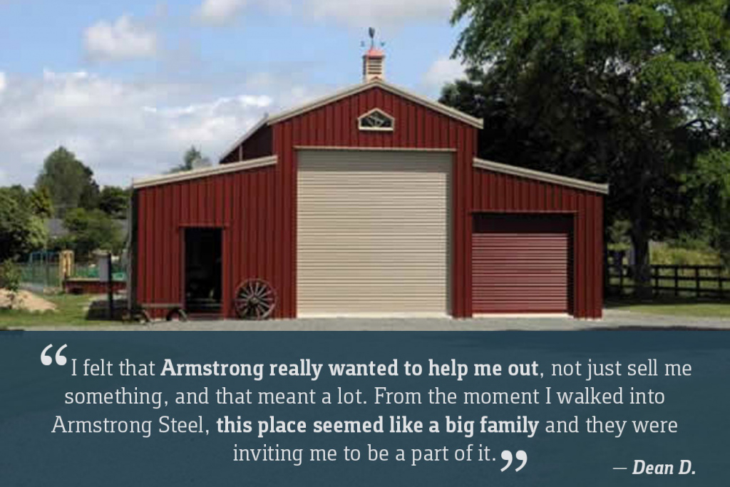 Armstrong Steel  Price Your Steel Building Online In Minutes Photo Example of American Steel Carport Calculator