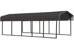 Arrow 20 X 20 29Gauge Metal Carport With Steel Roof Panels Photo Sample of Arrow Metal Carport