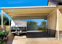 Attached Carports Flat Roof Image Sample in Flat Roof Carport Designs