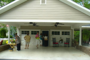 Awesome Carport Additions Plans House Ideas Covered And Picture Example for Attached Carport To House