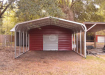 Awesome Metal Carport Garage — Mile Sto Style Decorations Facade Sample of Used Metal Carport