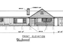 Bedroom Ranch House Plans Carport  House Plans  70550 Image Sample in Simple House Plans With Carport