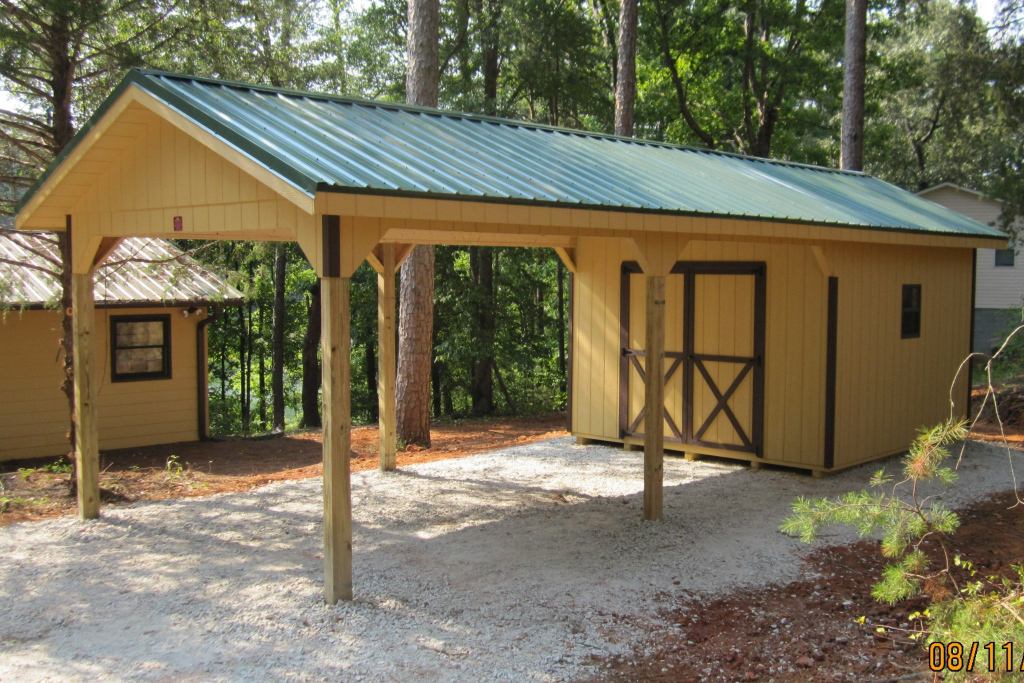Best Carport Shed Plans  Storage Shed Plans 2019 Facade Example of Diy Carport Lean To