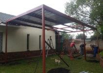 Build It Yourself Carport Kits Metal Steel  Royals Courage Facade Example in Diy Double Carport