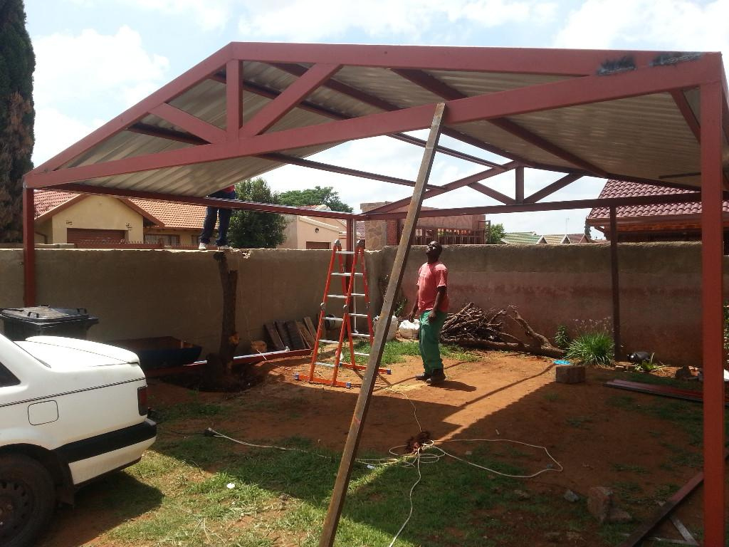 Build It Yourself Carport Kits Metal Steel  Royals Courage Facade Sample for How To Build A Metal Carport Plans