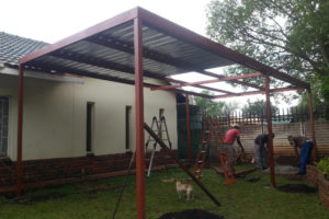 Build It Yourself Carport Kits Metal Steel  Royals Courage Facade Sample in How To Build A Steel Carport