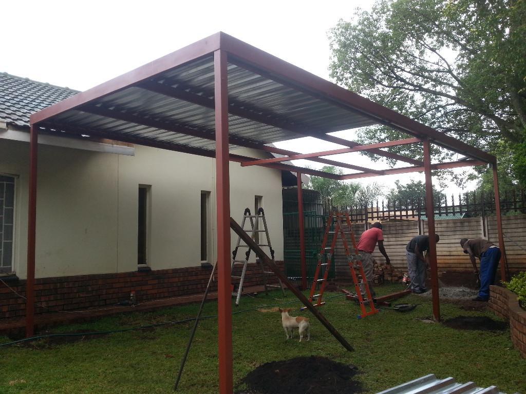 Build It Yourself Carport Kits Metal Steel  Royals Courage Photo Example in Flat Roof Metal Carport Kits