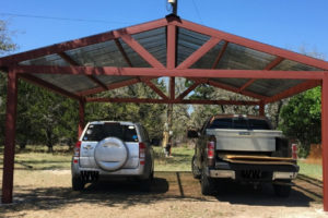 Building A Metal Carport – Part 2  Weekend Handyman Photo Sample of How To Build A Metal Carport