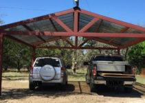 Building A Metal Carport – Part 2  Weekend Handyman Picture Example in Custom Metal Carport
