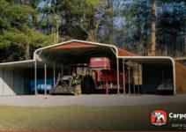 California Carports Metal Buildings And Garages Image Sample in Metal Carport Kits California