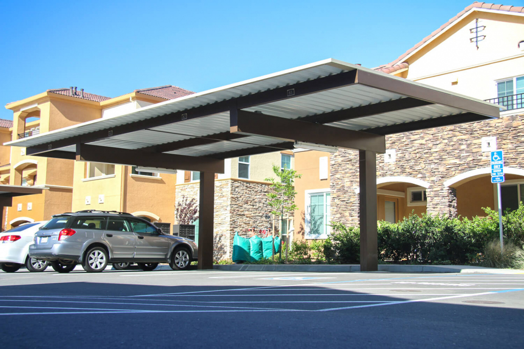 Cantilever Car Ports  Car Port Image Hd Picture Example in Residential Cantilever Carport