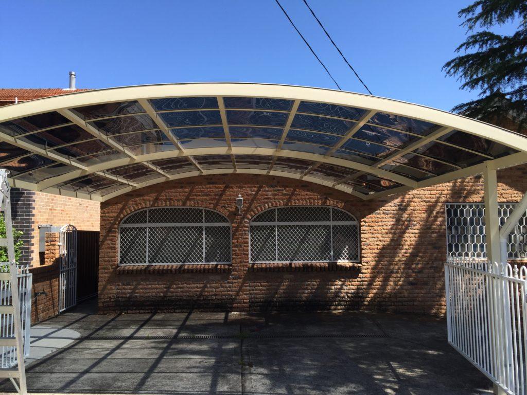 Cantilever Carports  Bighands Building Supplies Facade Sample of Cantilever Carport Kits