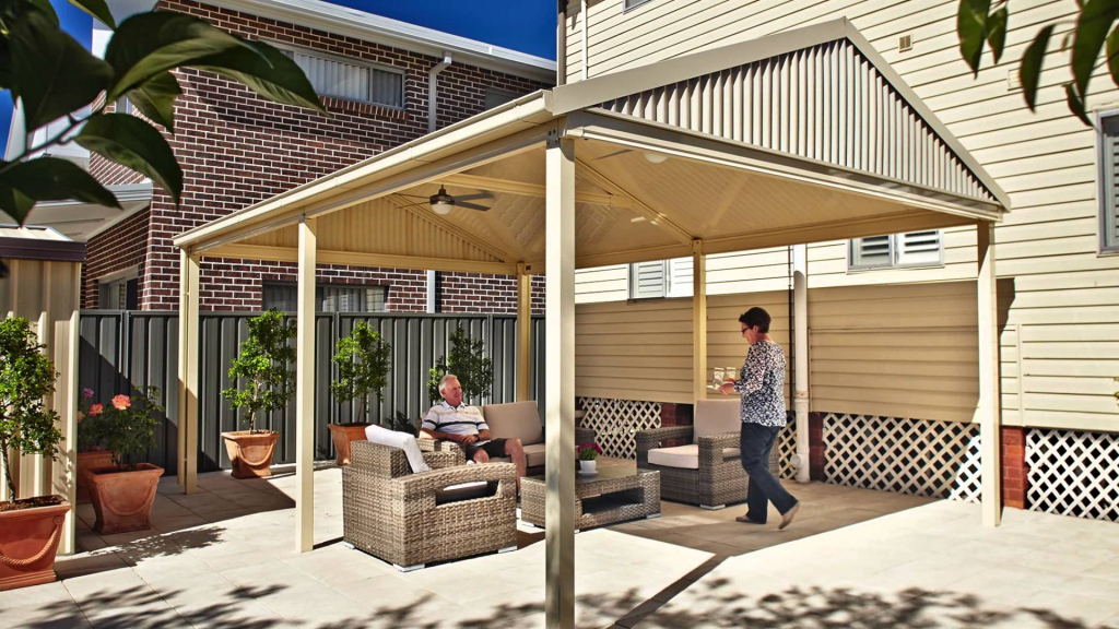 Car Patio Design • Patio Ideas Facade Sample for Outdoor Carport Ideas