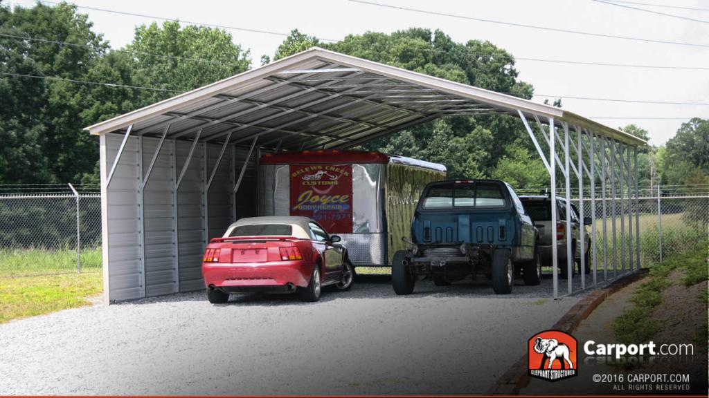 Carolina Carports Storage Buildings Picture Example in Metal Carport Elephant