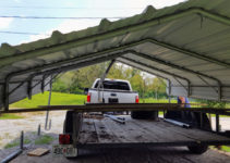 Carport Archives  Our Downsized Life Picture Sample for How To Move A Metal Carport
