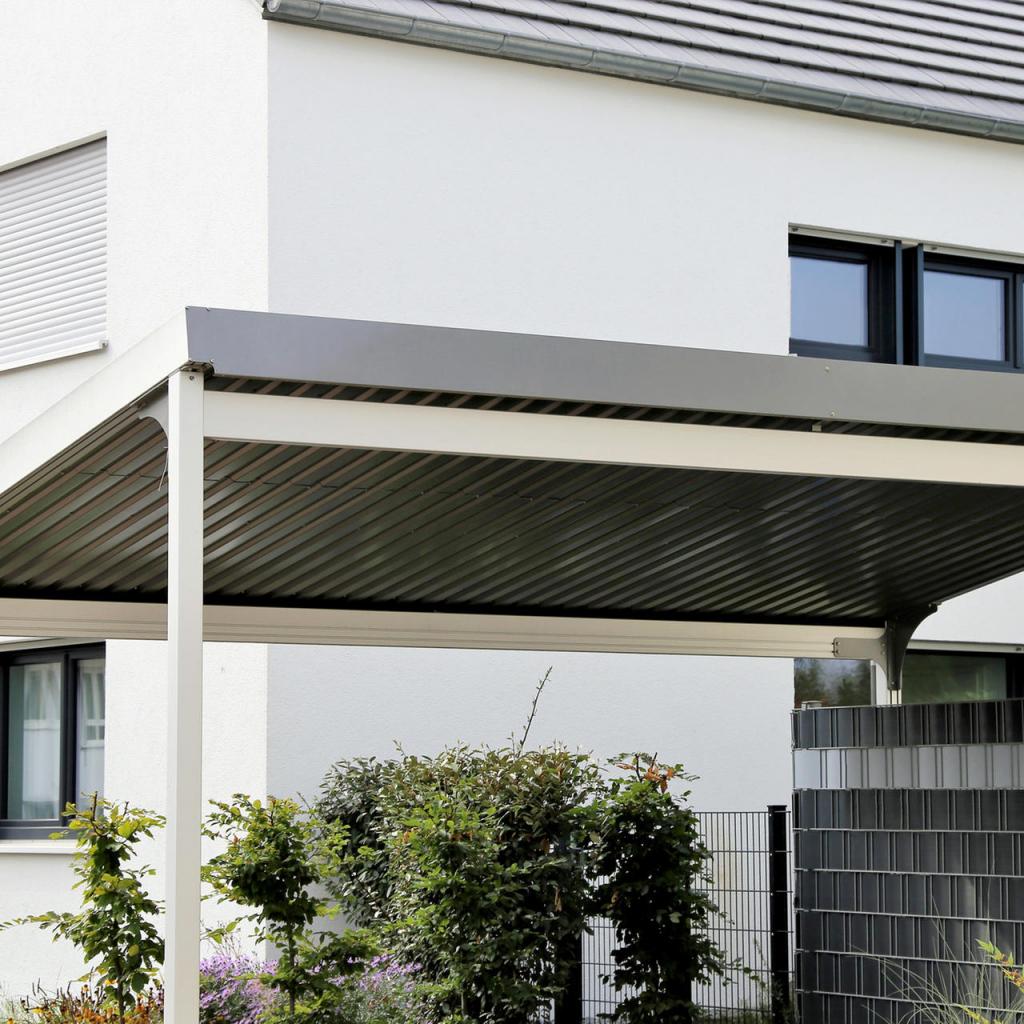 Carport Aus Aluminium – Viele Vorteile Gegenüber Holz Image Sample in Large Metal Carport