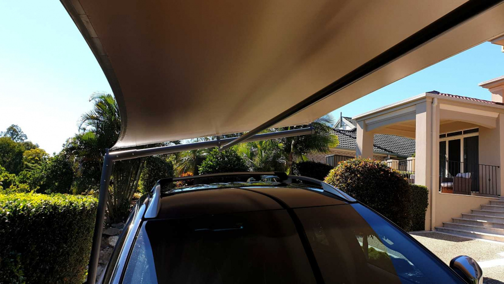 Carport Cantilever Shade Sail Brisbane Facade Example of Cantilever Carport Australia