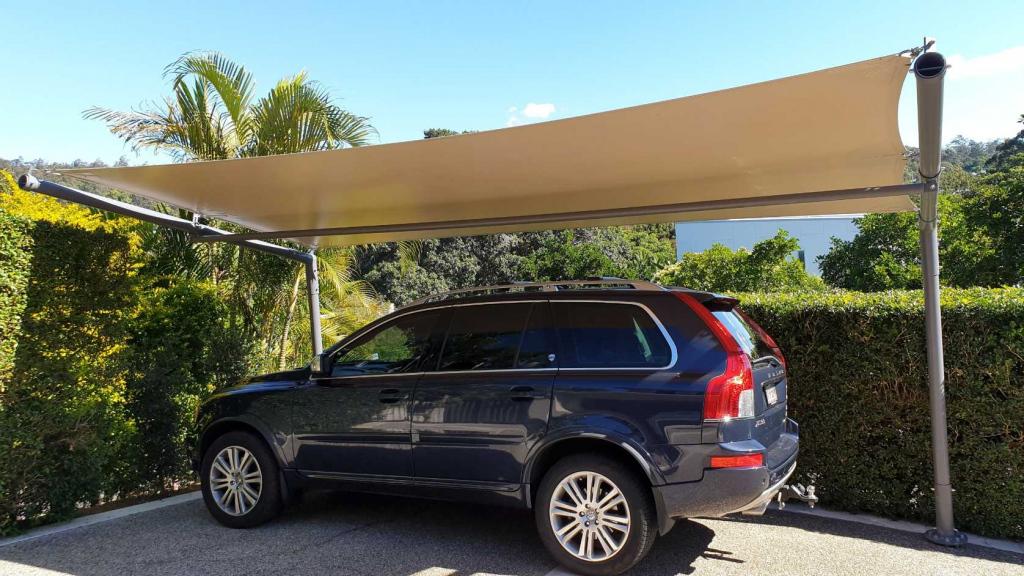 Carport Cantilever Shade Sail Brisbane Picture Example for Cantilever Carport Australia