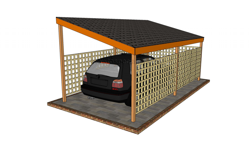 Carport Designs  Howtospecialist  How To Build Step Facade Example for Diy Carport Lean To