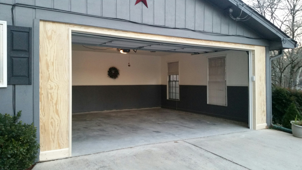 Carport Garage Conversion  Overhead Door Company Facade Sample for How To Turn A Metal Carport Into A Garage