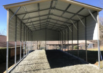 Carport Height Issue And Ideas On Raising It  Jayco Rv Image Example of Raise Metal Carport