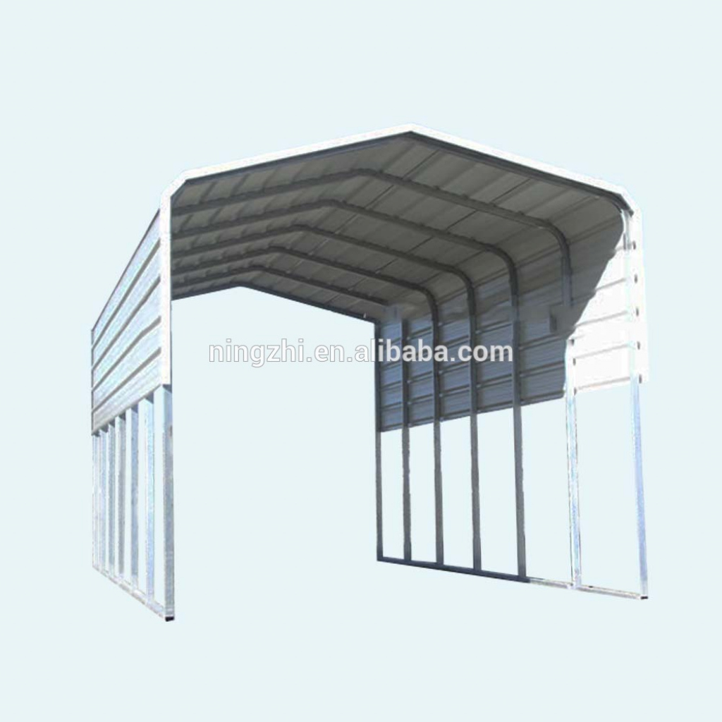Carport In Garden Used Steel Garage And Garden Shed  Buy Metal Roof  Carportcarports Garages With Polycarbonate Roofgarage Carport Designs  Product Image Example for Metal Carport Used