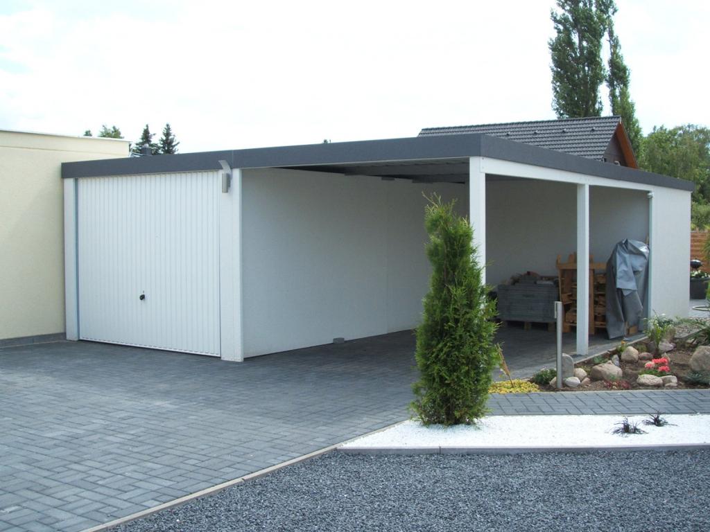 Carport  Knopp Garagen Picture Example in Carport Garage Metal