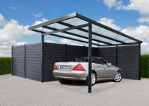 Carport Mit Aluunterkonstruktion Photo Sample in 20 X 25 Metal Carport