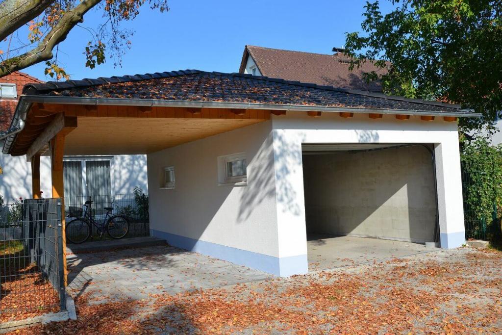 Carport Oder Garage  Was Soll Es Beim Hausbau Sein Facade Example in Garage And Carport