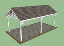 Carport Plans Free  Carport Plans Free Picture Example of Simple Carport Plans