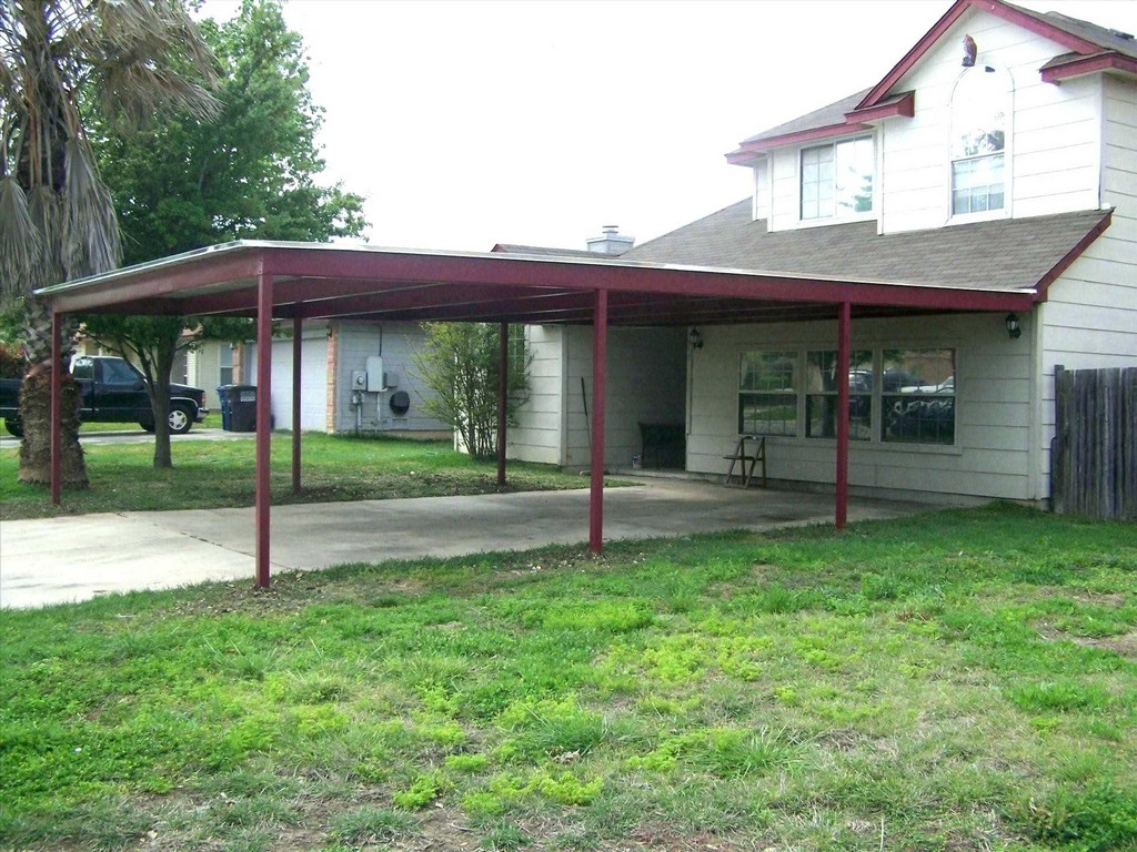 Carport Privacy Screen Ideas Mobile Home Offset Support Picture Sample of House With Carport On Side