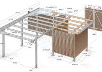 Carport Selber Bauen Bausatz Mit Erweiterung Facade Sample for Diy Pergola Carport