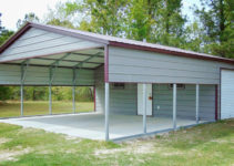 Carport Shed Combo Plans  Tuff Shed Keystone Kr 600 Facade Sample in Metal Carport Combo