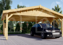 Carport Wooden 20X20 Us Free Shipping Facade Example of How Much Does It Cost To Build A Wood Carport