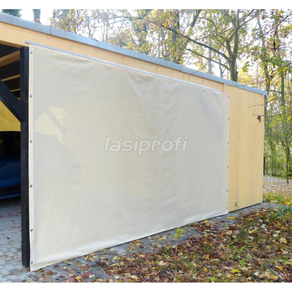 Carportplane Seitenwand Wetterschutzplane 260 Gm² Photo Example in Metal Carport 24 X 36