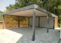 Carports Aus Stahl  Brandl Facade Sample in Best Metal Carport