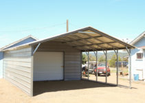 Carports Flat Roof Carport Prices Portable Metal Canopy Image Example for Portable Metal Carport For Sale